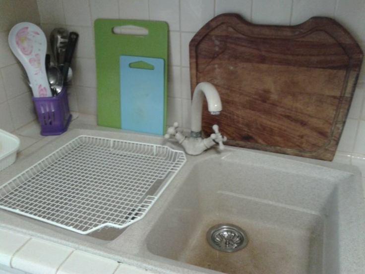 Il lavello del primo babystep di FlyLady.